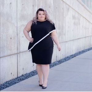 Ralph Lauren Asymmetrical Dress